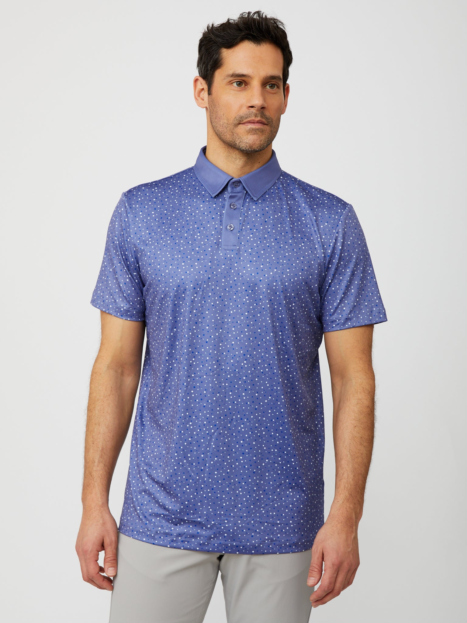 Upton Polo in Heron/Multi