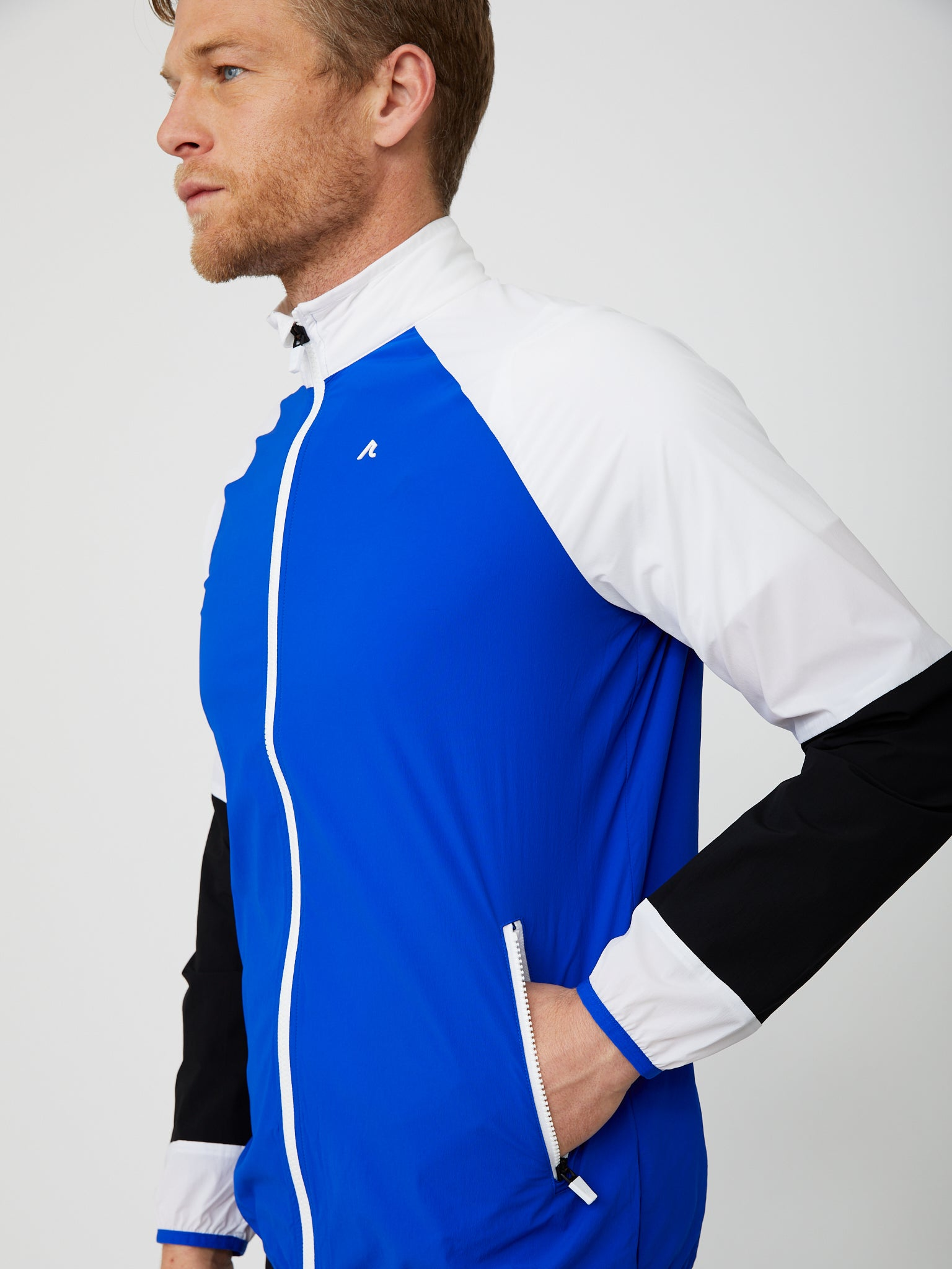 Delta Windbreaker in Reflex Blue/Multi