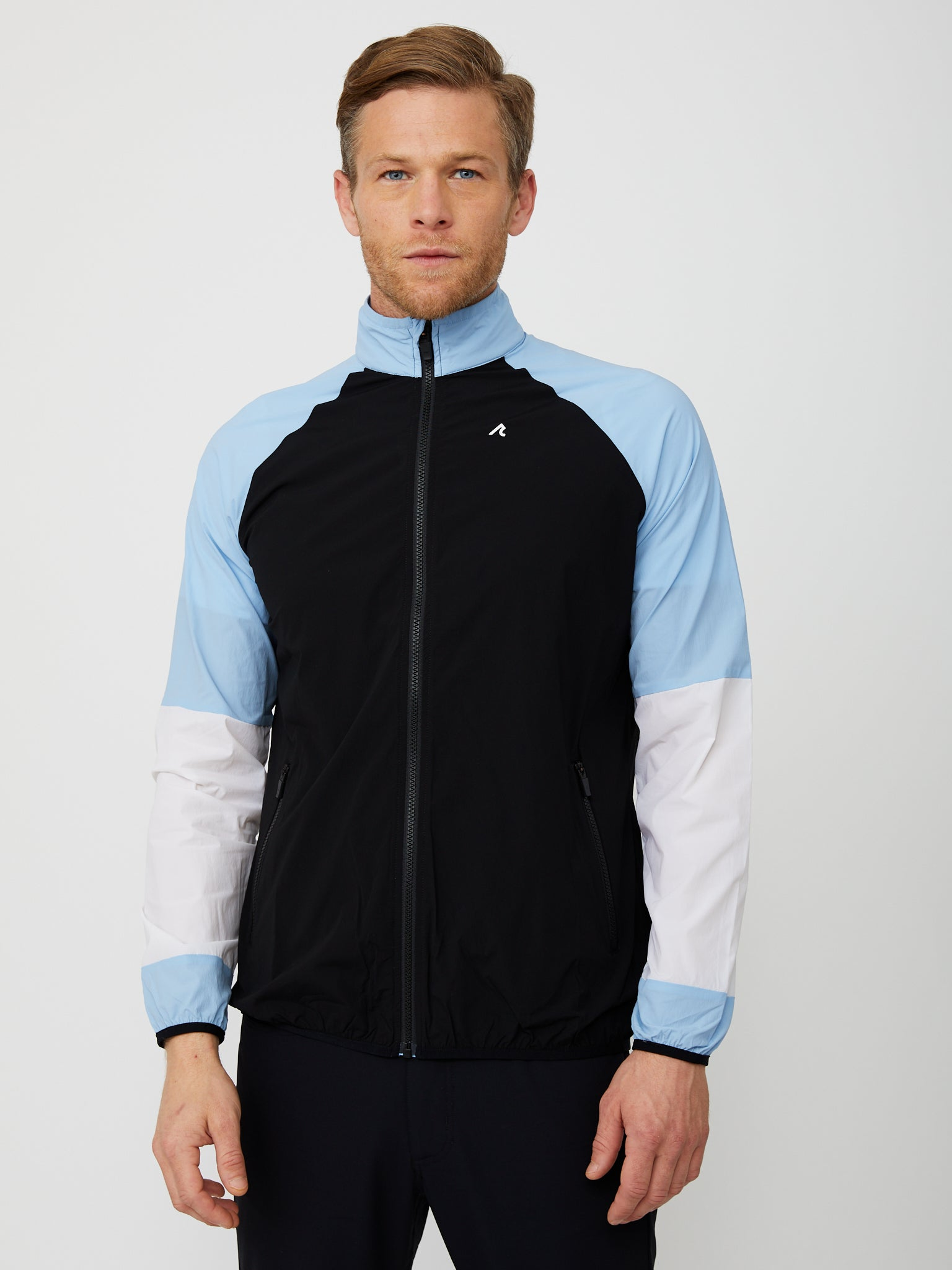 Delta Windbreaker in Black/Multi