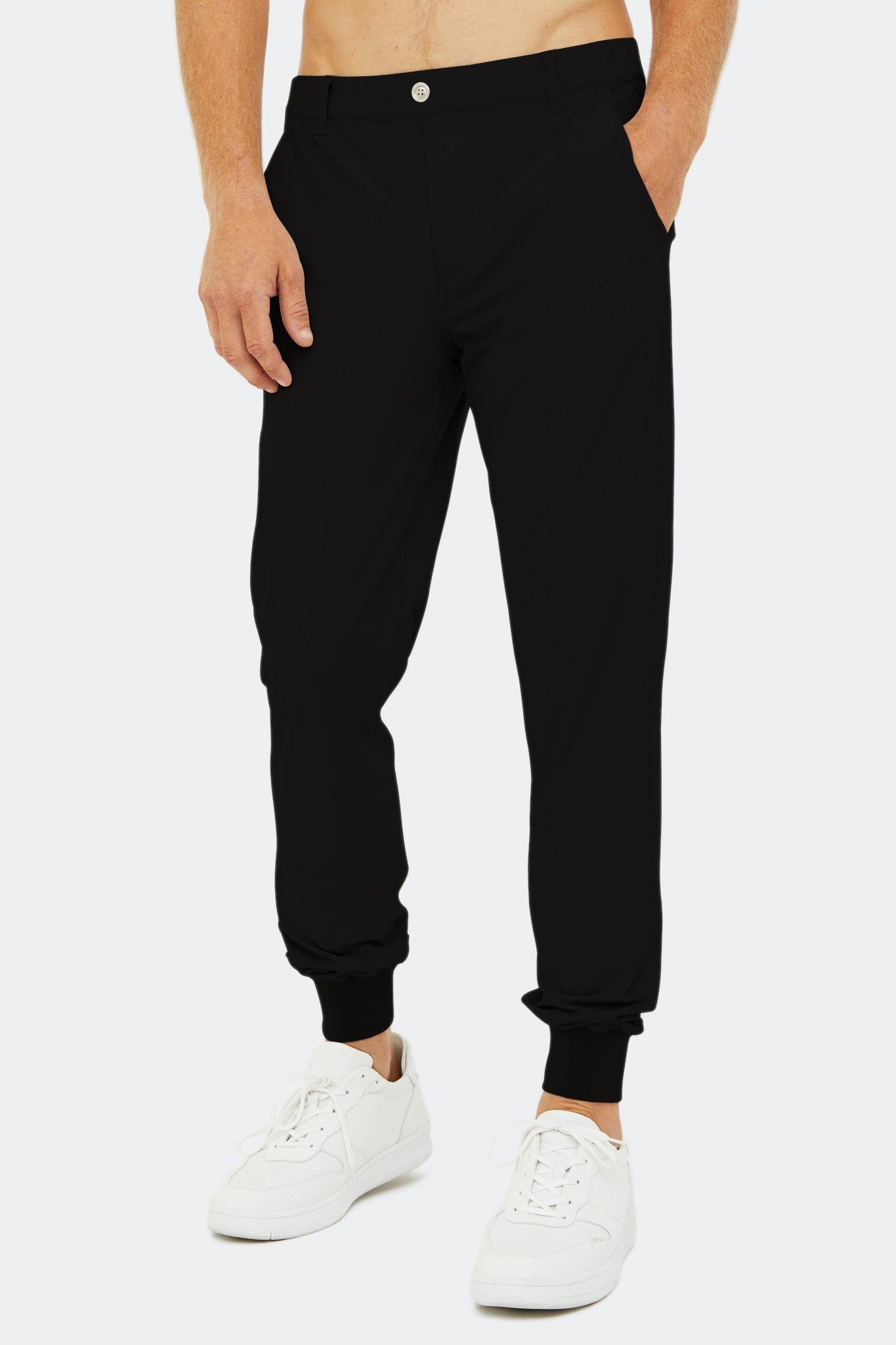 Halliday Pull-On Jogger in Black