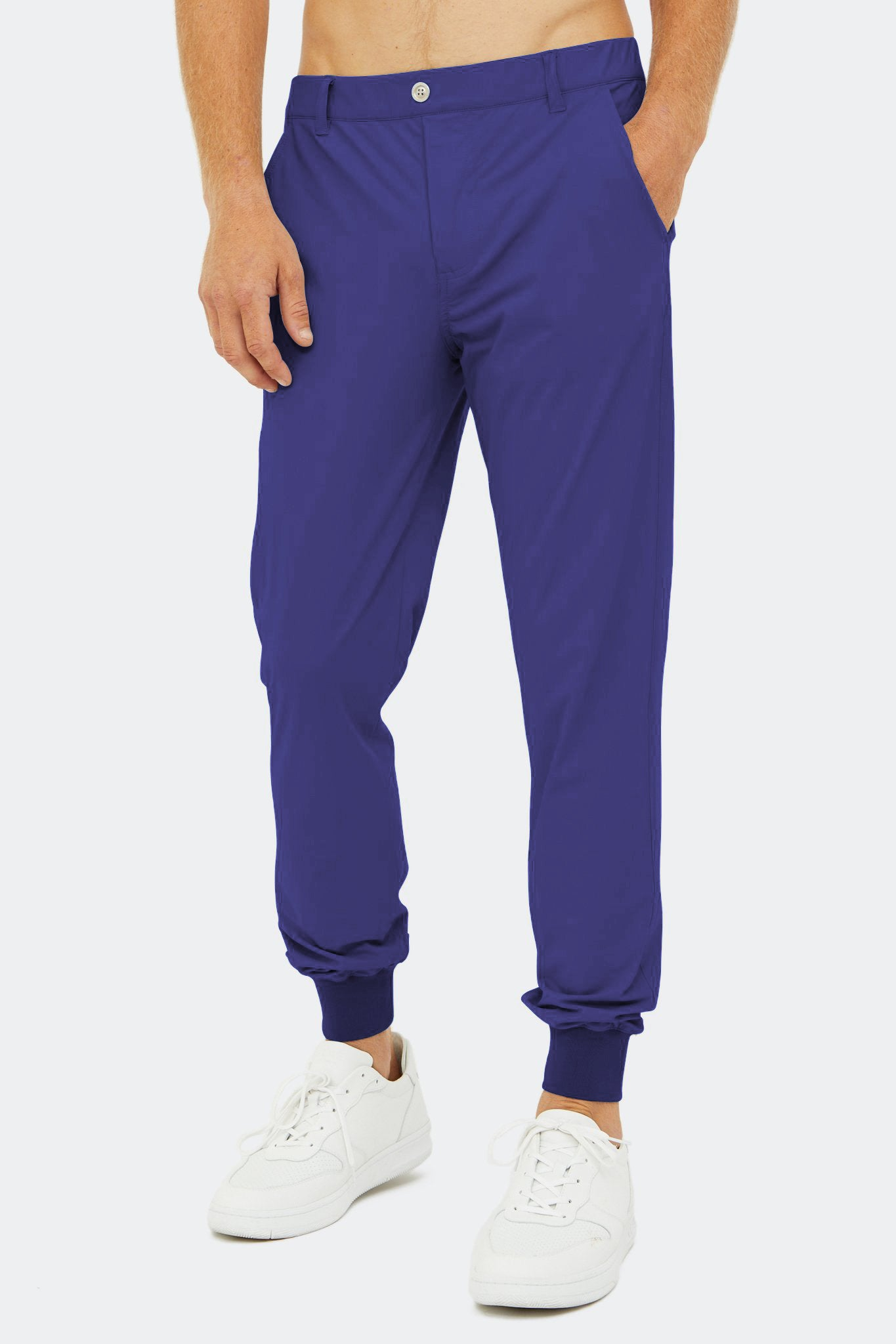 Halliday Pull-On Jogger in Astral Aura