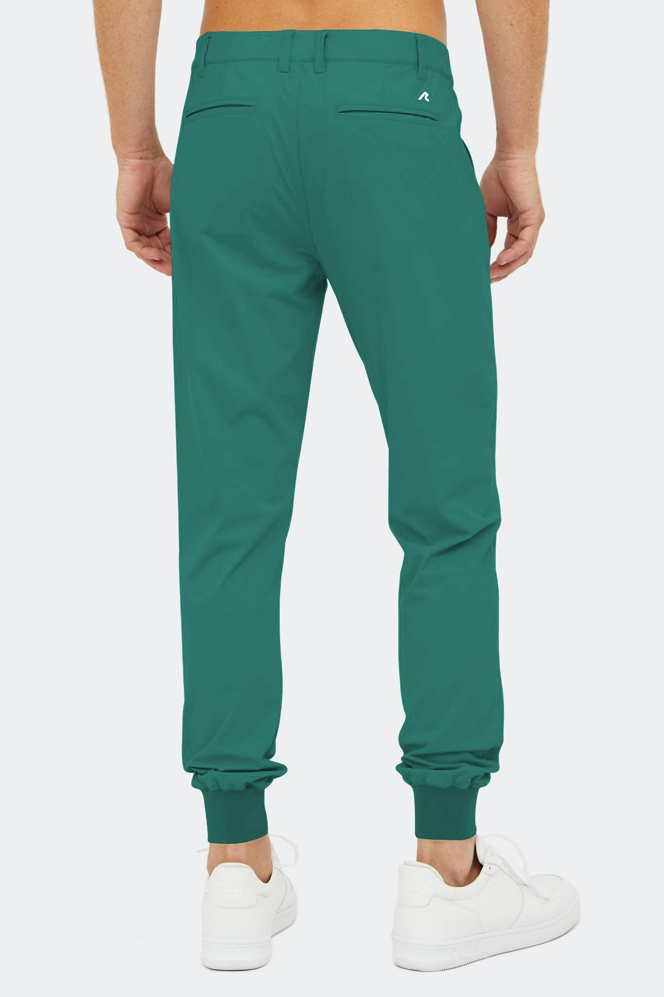 Halliday Pull-On Jogger in Evergreen