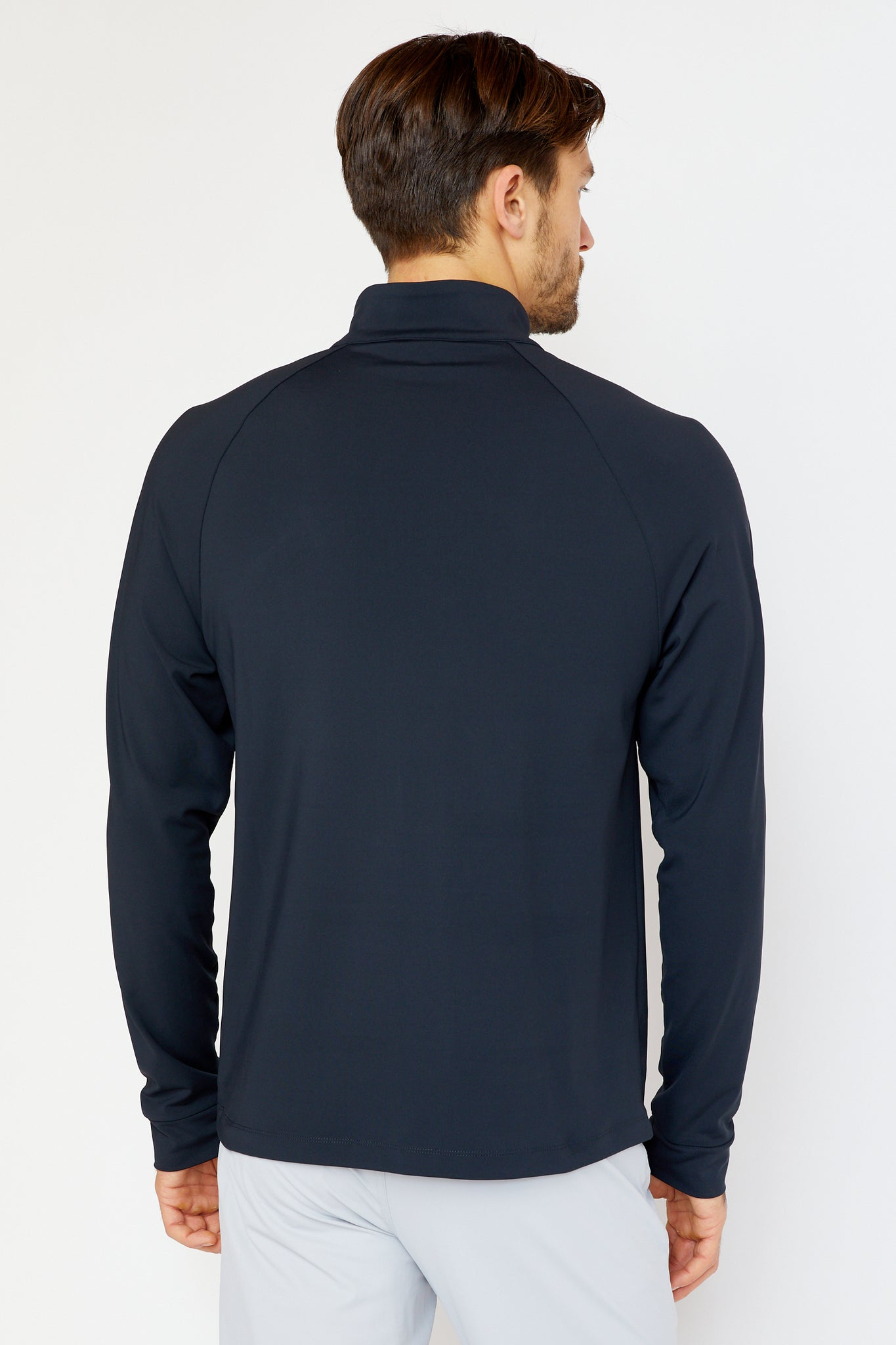 Doughty Quarter Zip in Black