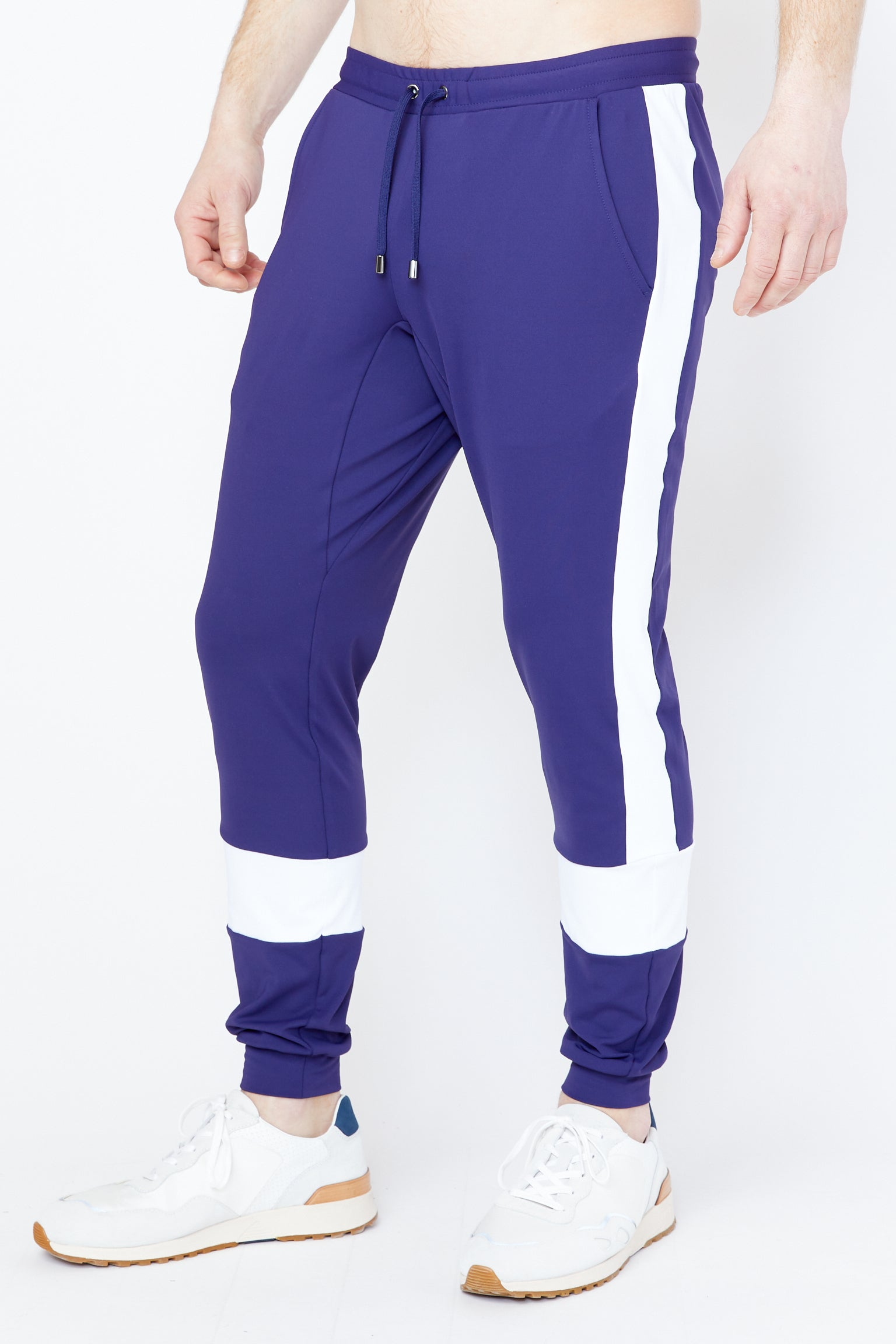 Maiden Jogger in Astral Aura/White