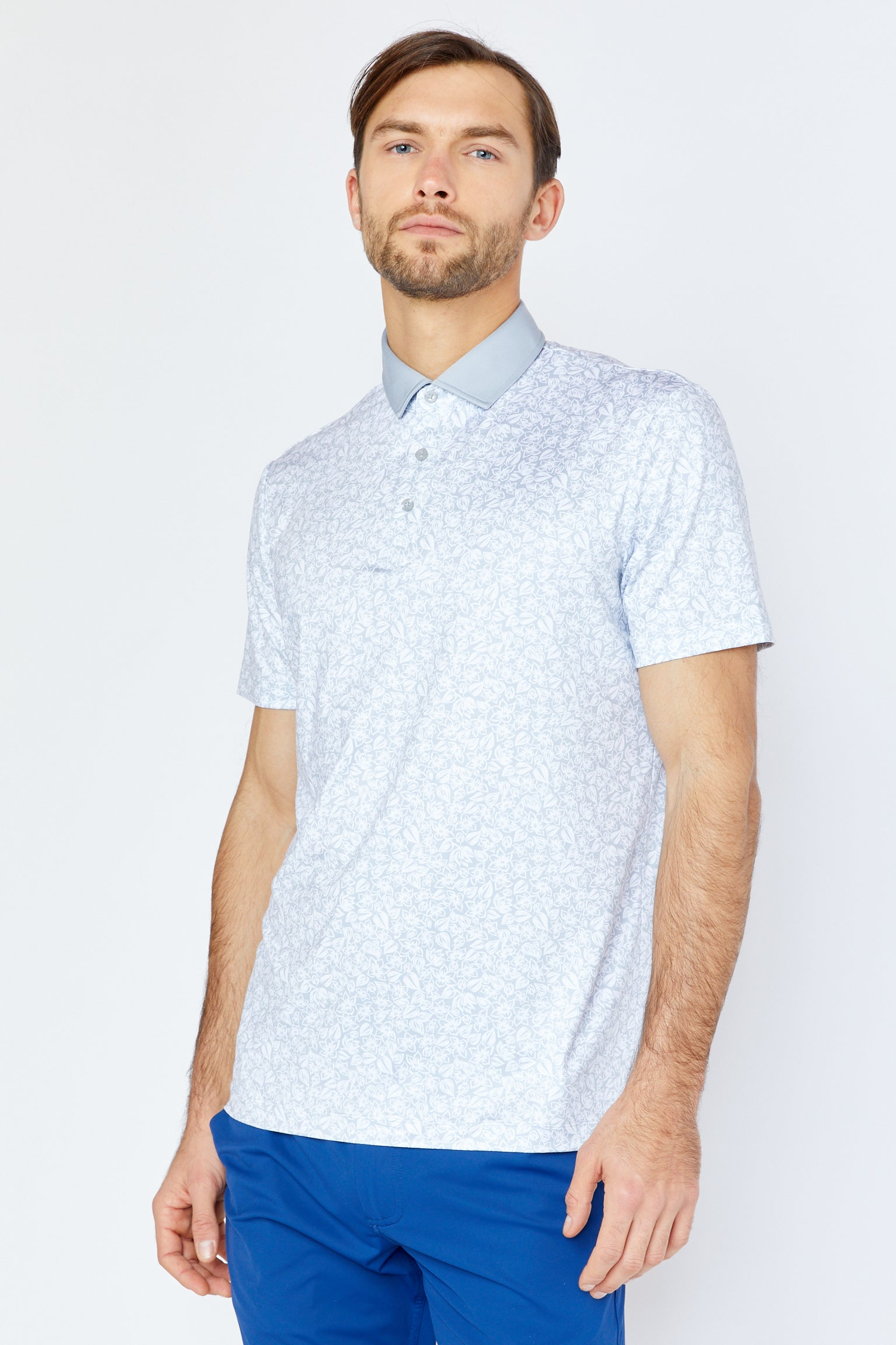 Filmore Polo in Cool Grey