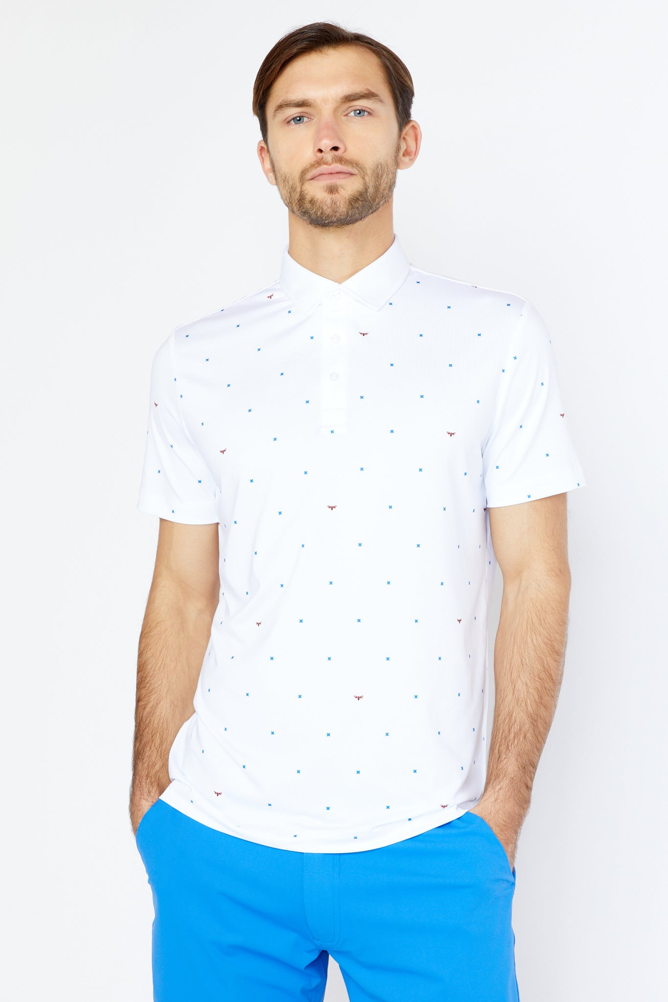 Grant Polo in White
