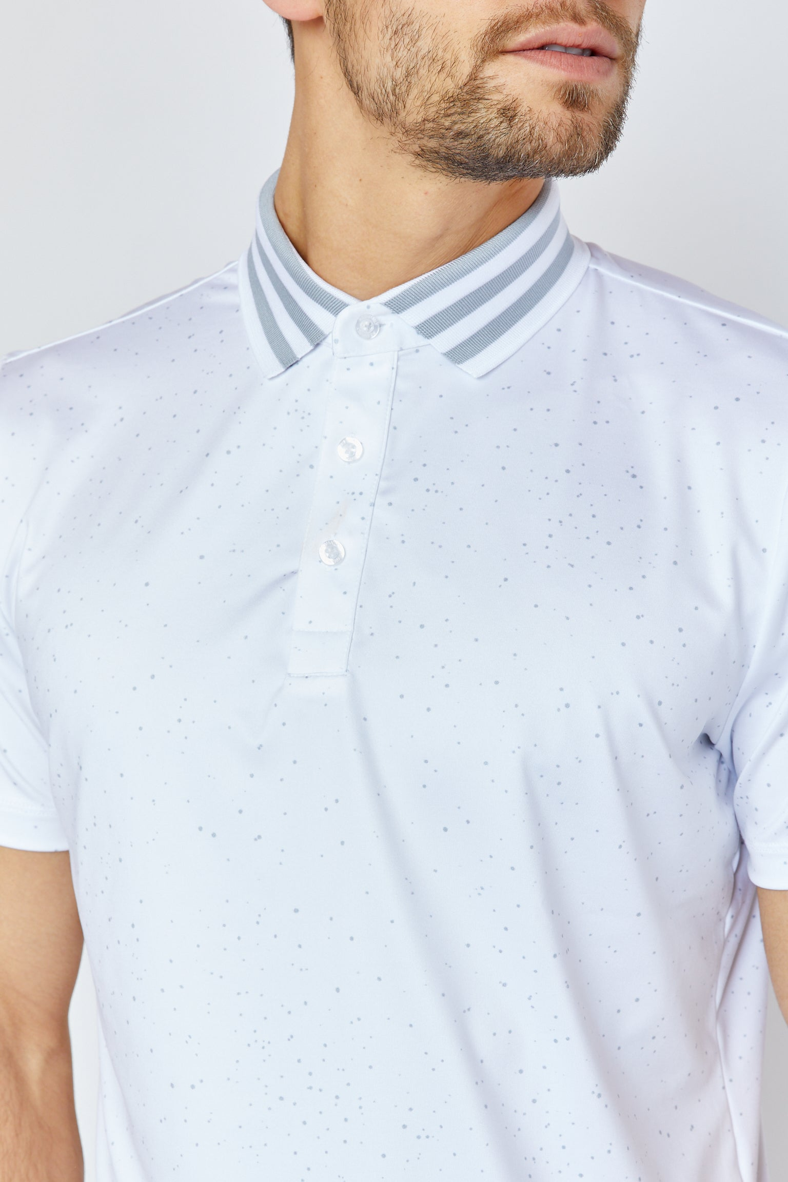 Galaxy Polo in White