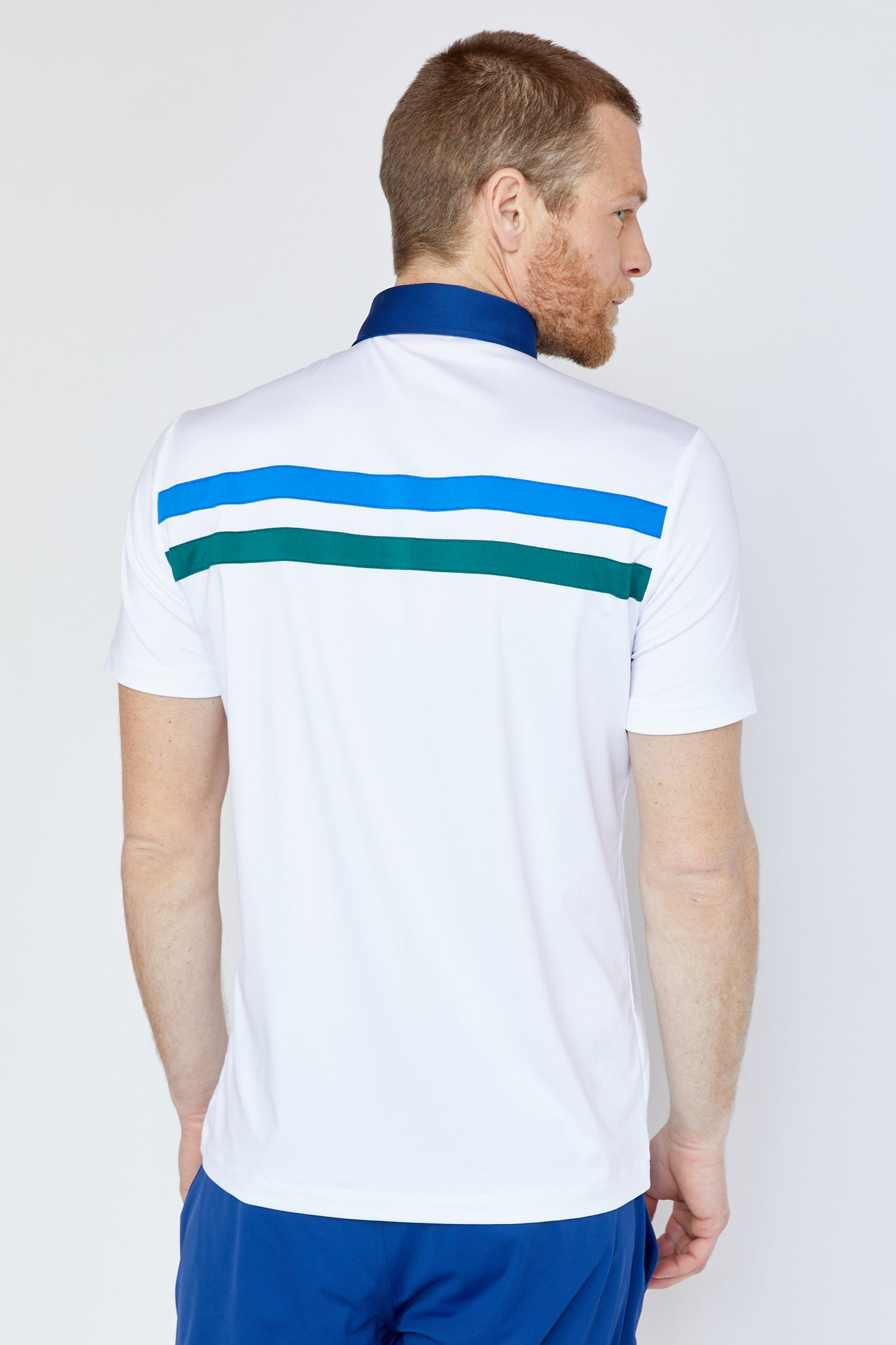 Stanyan Polo in White/Multi