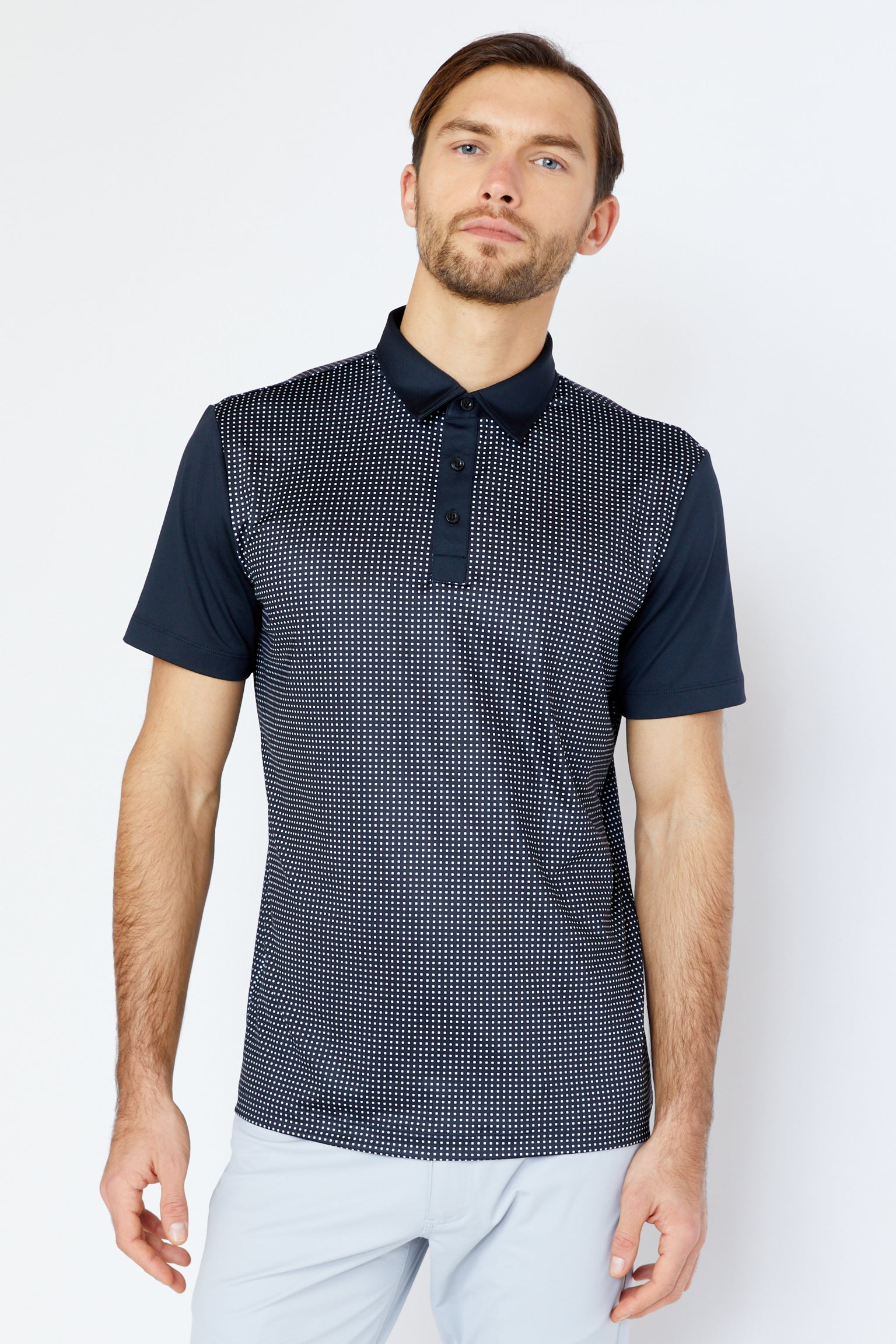 Geary Polo in Black