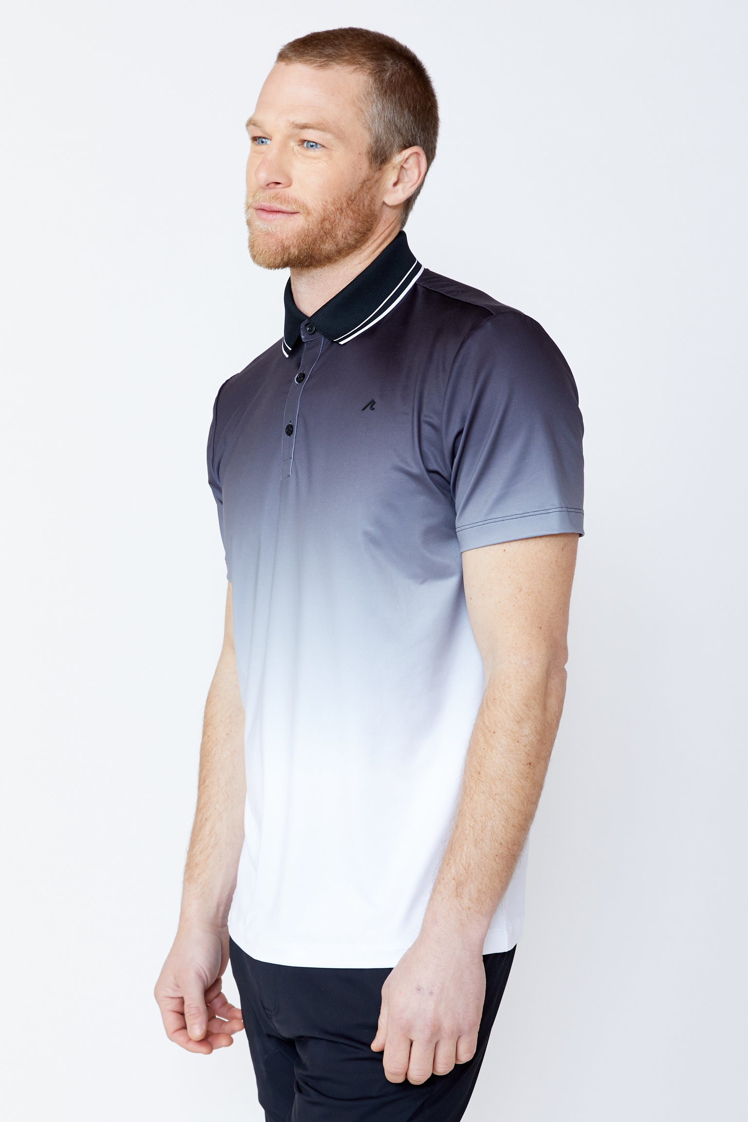 Haight Polo in Black