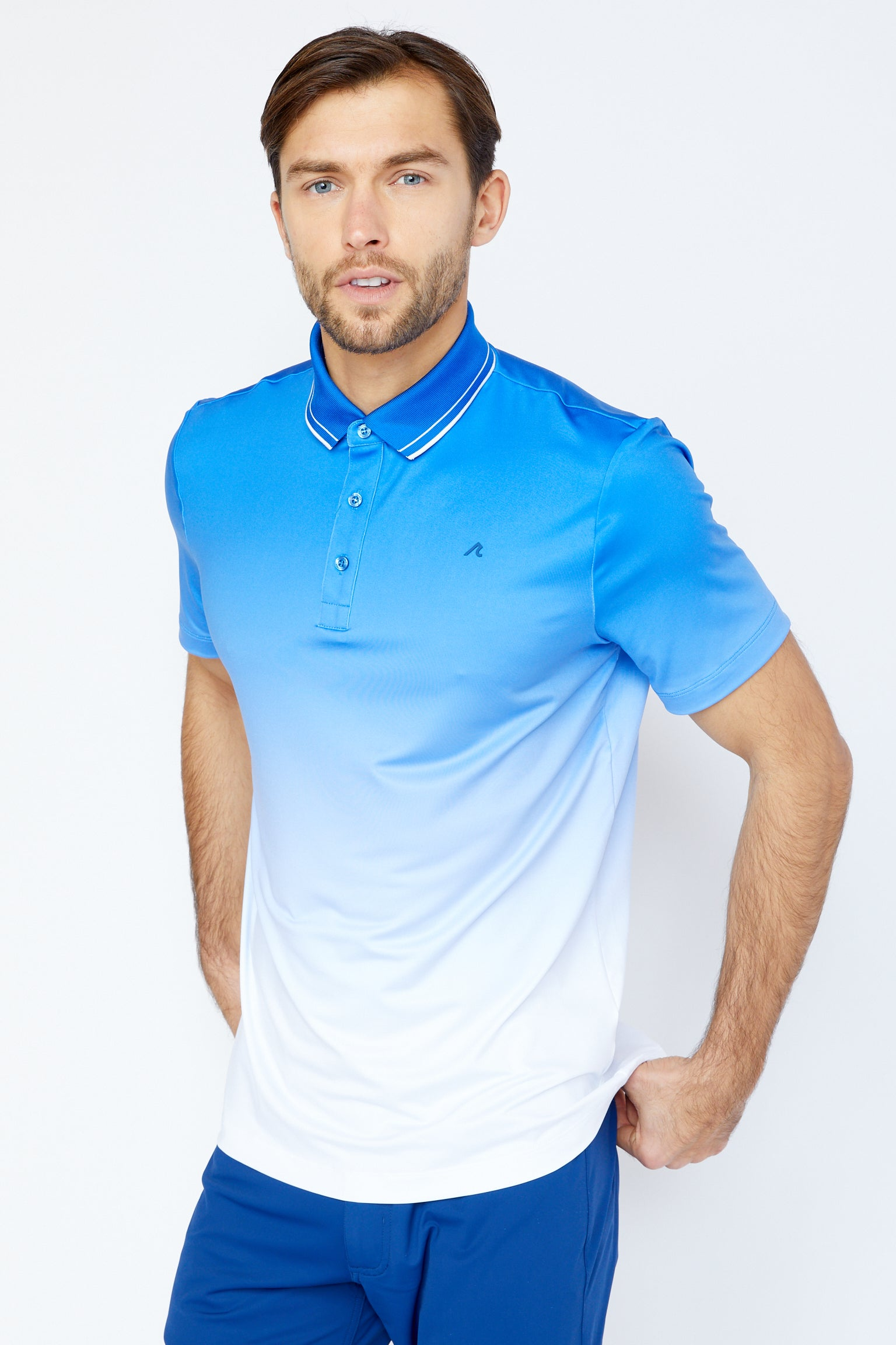 Haight Polo in Victoria Blue