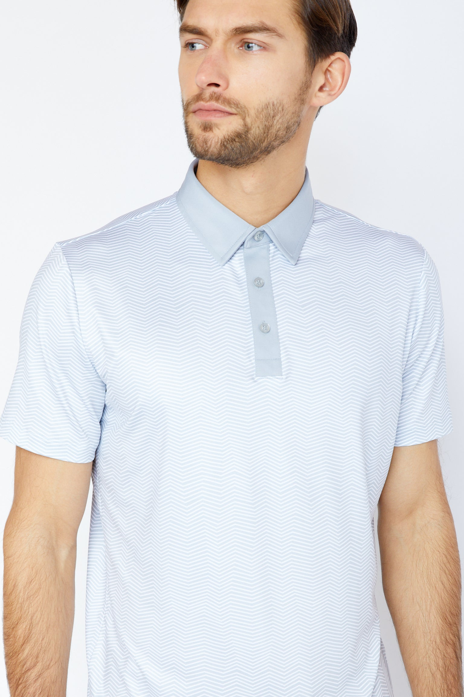Isola Polo in Cool Grey
