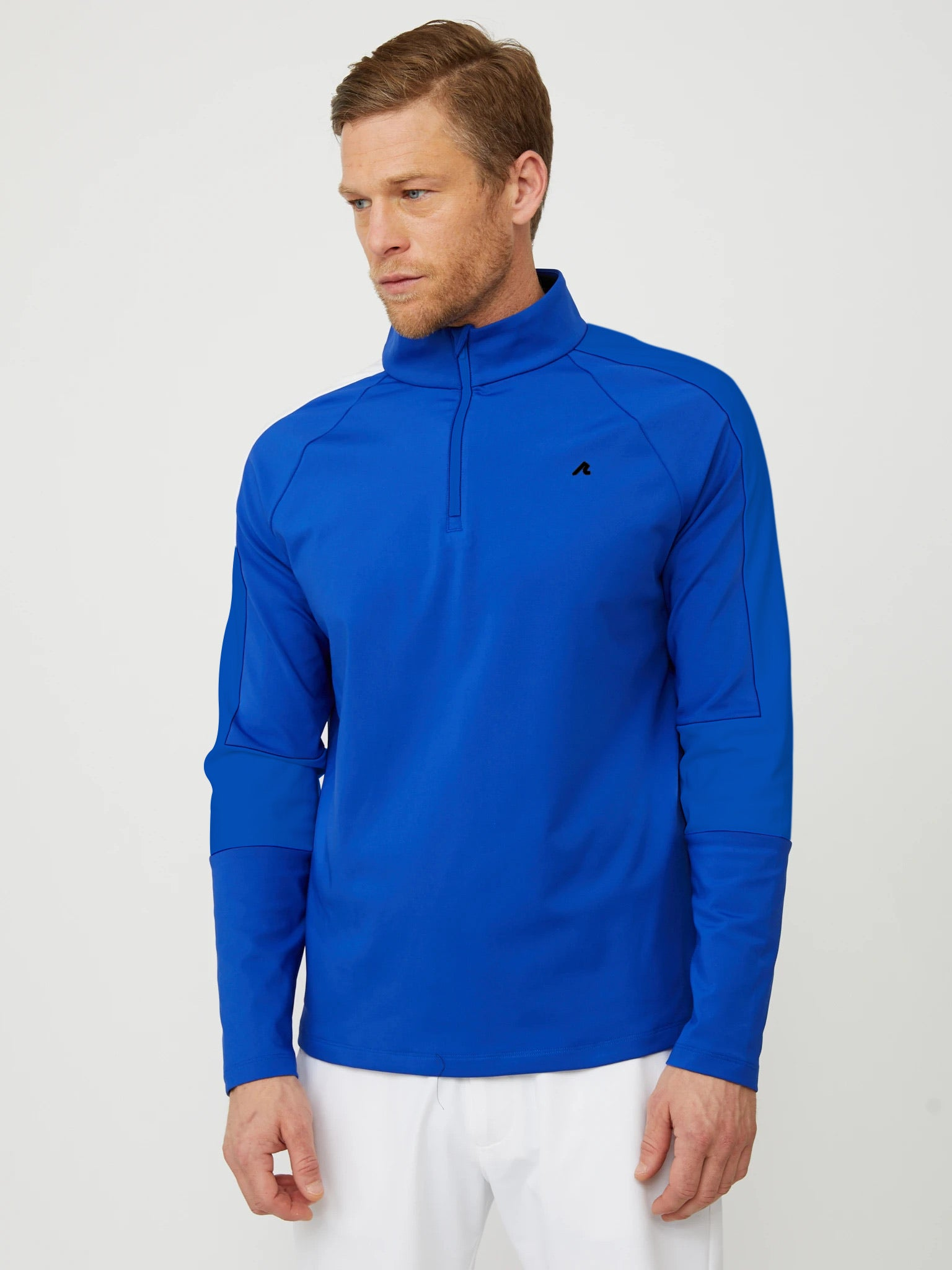 Costa Quarter Zip in Reflex Blue