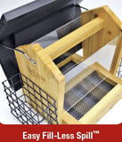 4 QT Hopper Feeder w/2 Suet Cages (Model# CWF16)