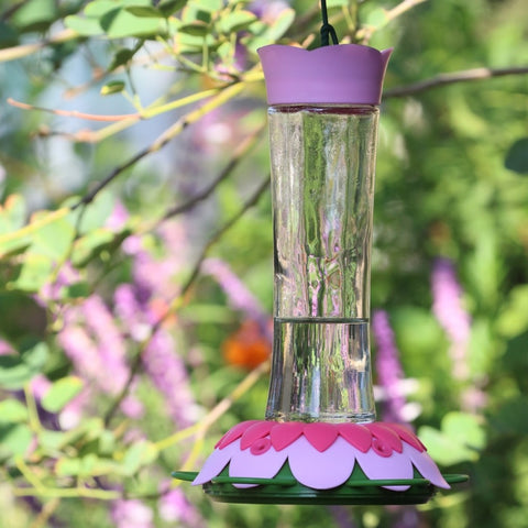 So Real Gravity Hummingbird Feeder - Pink Fuschia (Model# GFHF1)