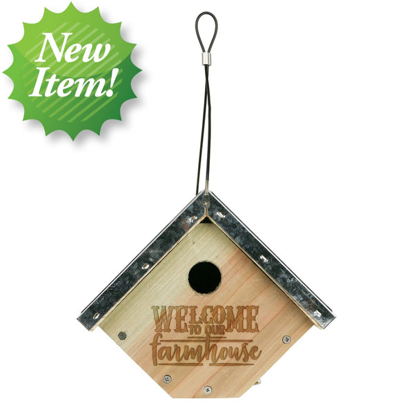 Decorative Weathered Wren House (Model# WWGH1-DECO)