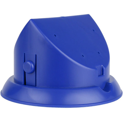 Blue tube feeder base