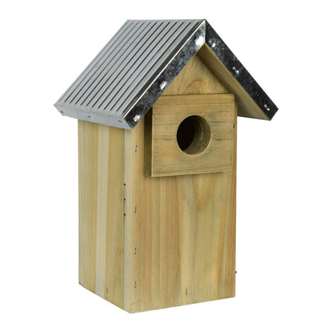 Galvanized Weathered Bluebird House (Model #WWGH3)