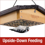 Upside-down Seed Cake Feeder (Model# CWF32)