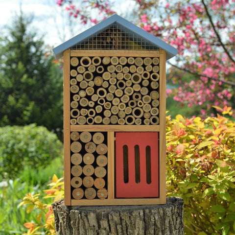 Better Gardens Multi-Chamber Beneficial Insect House (Model #PWH3-B)
