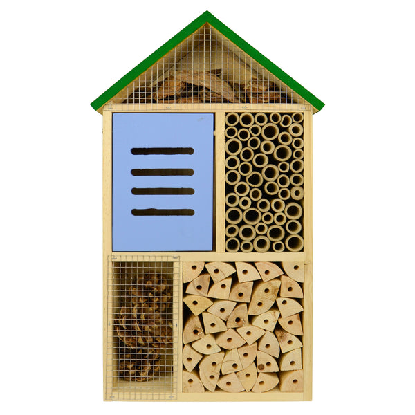 Better Gardens Deluxe Multi-Chamber Beneficial Insect House (Model# PWH4)