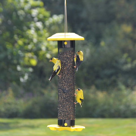 Funnel Flip-Top Mesh Finch Feeder (Model #FFM1)