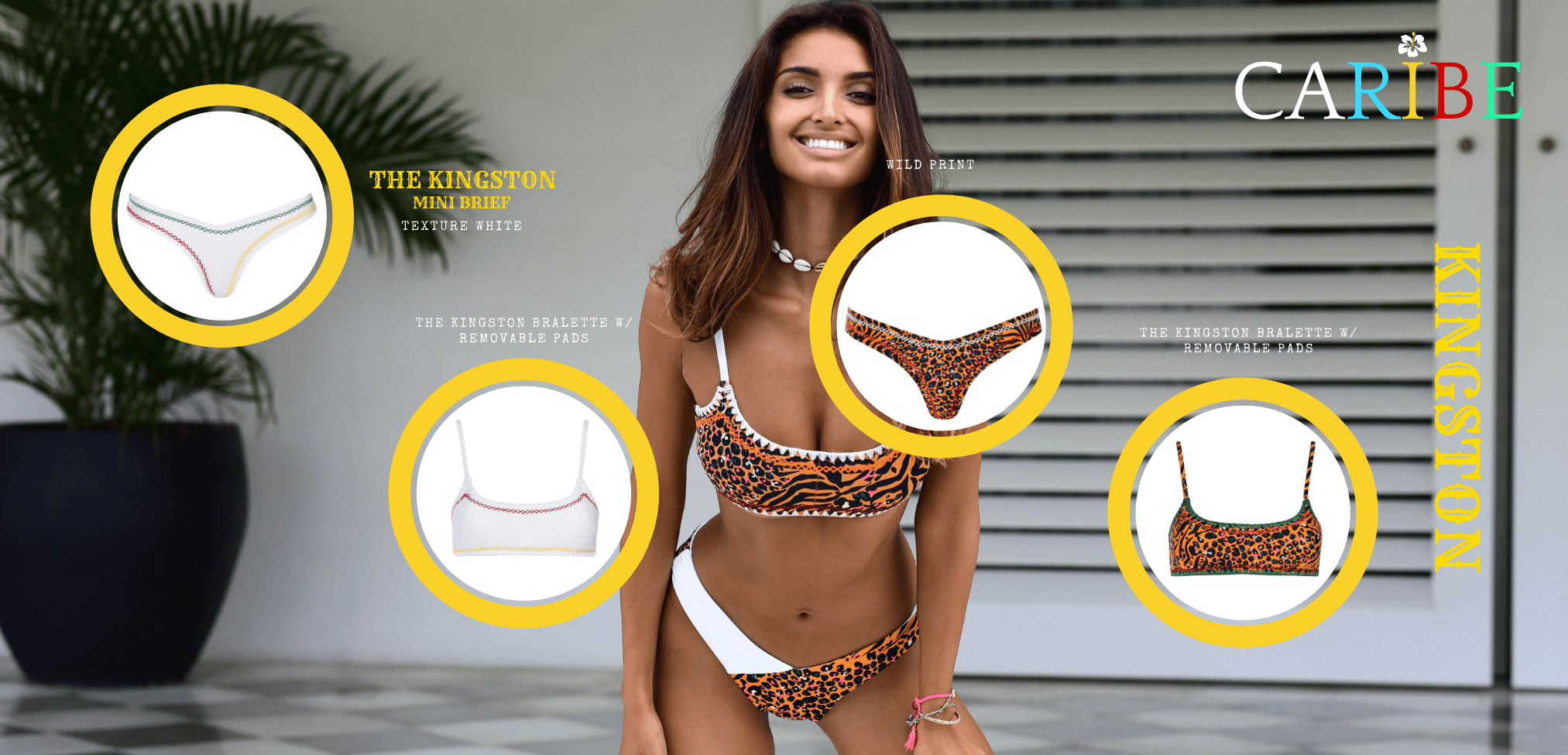 vetchy swimwear hand crochet bikini leopard zebra print wild collection 2020