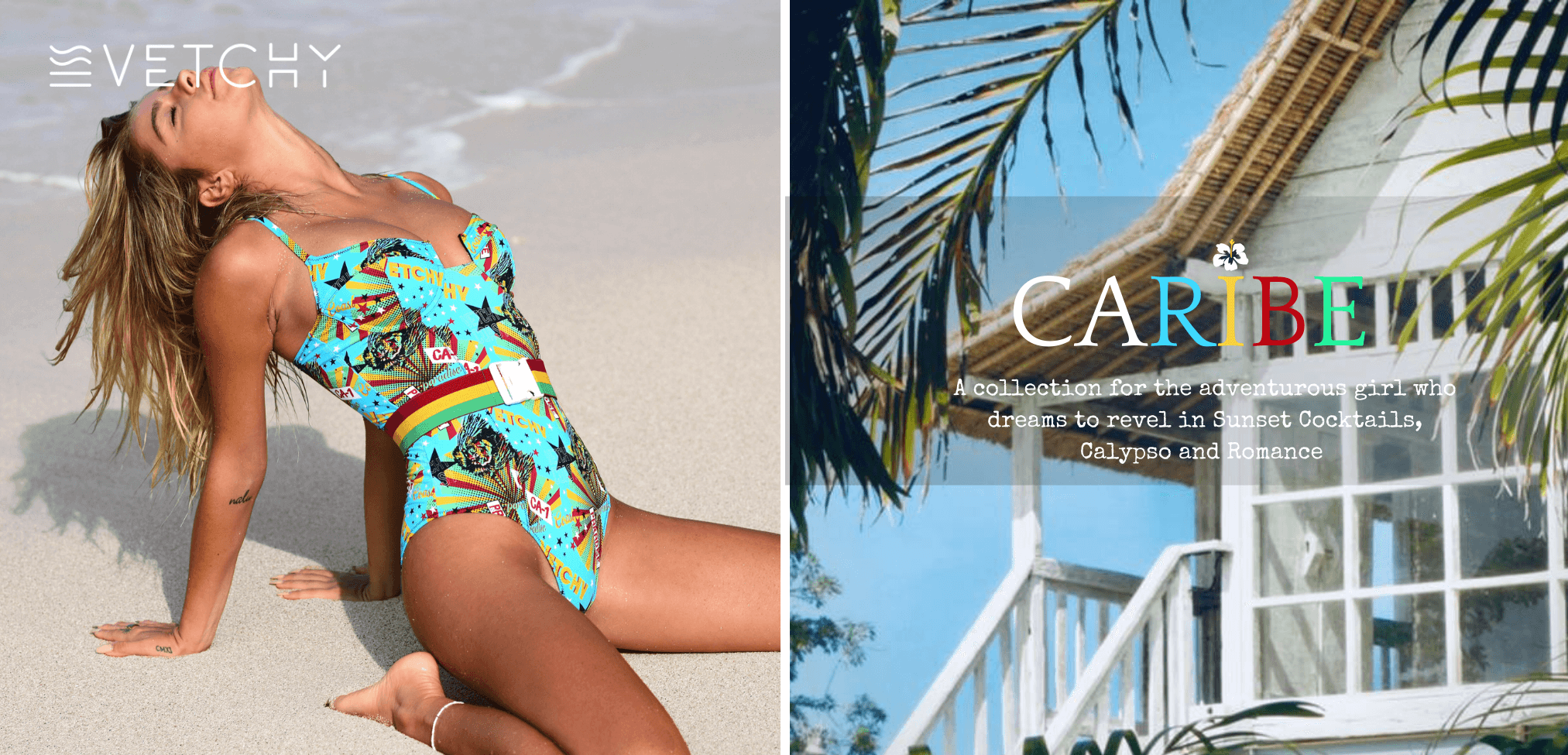 caribbean inspired swimwear collection 2020