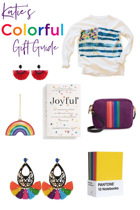 Katie's Colorful Gift Guide