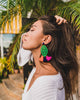 handmade designer womens green adna earrings katie bartels