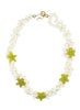 womens white pearl and green serpentine amagansett necklace katie bartels