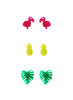 womens bright multicolor bonaire stud set katie bartels