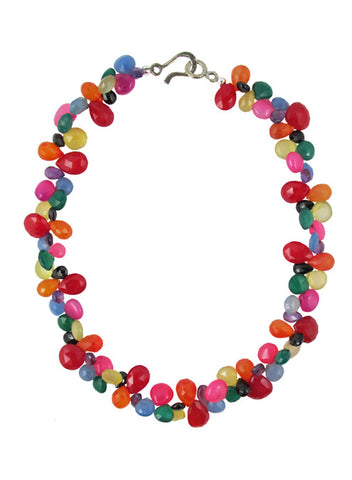 womens multicolor soledad necklace katie bartels