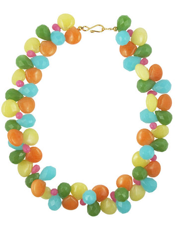 womens multicolor clementina necklace katie bartels