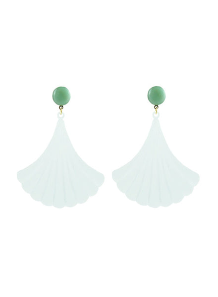 handmade designer womens translucent white darcy earrings katie bartels