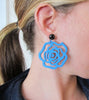 womens blue emma earrings katie bartels
