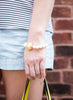 womens white pearl and gold ginny bracelet katie bartels