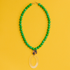 handmade womens green jade and geometric pendant necklace katie bartels