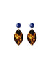 handmade designer womens tortoise shell ikram earrings katie bartels