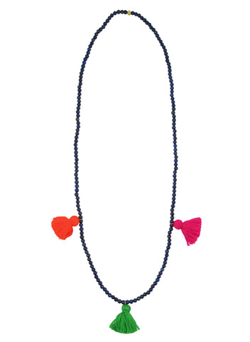 womens lapis ines necklace katie bartels