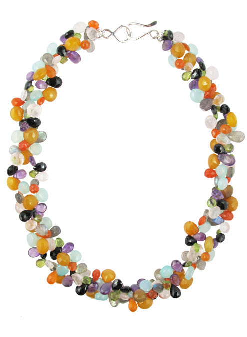 womens multicolor isabel necklace katie bartels
