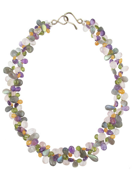 womens multicolor josephina necklace katie bartels