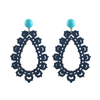 Krina Earrings, navy—SOLD OUT