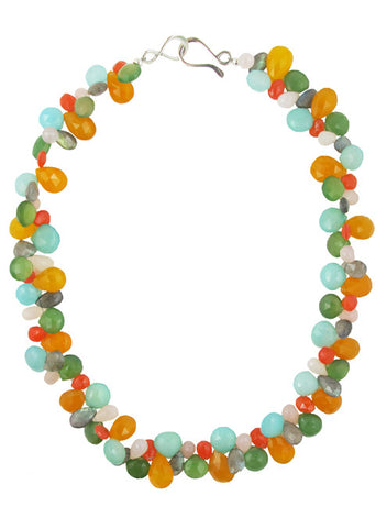 womens multicolor marisela necklace katie bartels