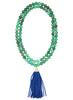 womens green chrysoprase mounia necklace katie bartels
