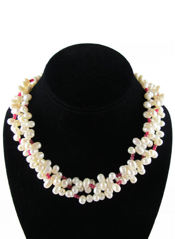 womens ruby olivia necklace katie bartels