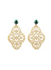 handmade designer womens ivory preeti earrings katie bartels