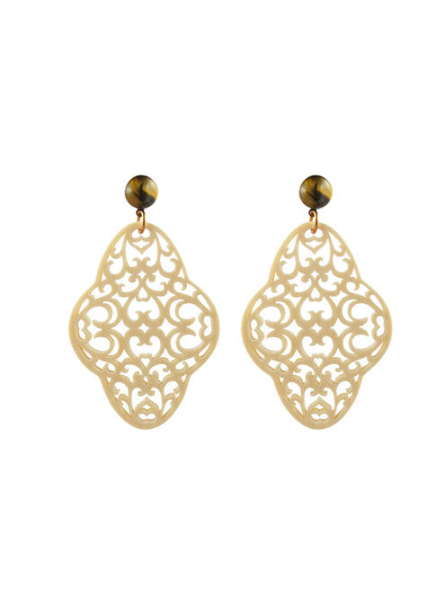 womens ivory preeti earrings katie bartels