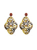womens tortoise preeti earrings katie bartels