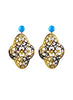 handmade designer womens tortoise preeti earrings katie bartels